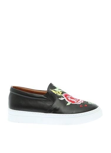 Bambi Bambi Ayakkabı Düz Ayakkabı 1111 Z Y 17 Siyah
